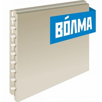 Пазогребневая плита ВОЛМА 667х500х80 мм пустотелая